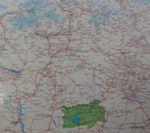 ウッタラーカンド州地図